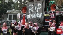 SMRC Sebut Kualitas Demokrasi Bangsa Turun usai Rusuh 22 Mei