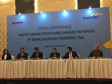 Cetak Laba 2018 Rp 25 T, Bank Mandiri Sebar Dividen Rp 11,2 T