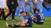 Atalanta gagal mengakhiri puasa gelar yang sudah berlangsung sejak 1963 atau 56 tahun silam setelah terakhir kali meraih gelar saat juara Coppa Italia musim 1962/1963.(REUTERS/Alberto Lingria)