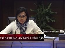April 2019, Realisasi Belanja Negara Naik 8,4%