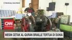 VIDEO: Mesin Cetak Al-QuranBraille Tertua di Dunia