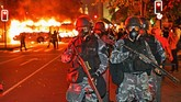 Bolsonaro mengklaim kebijakannya sudah dengan dalih kondisi ekonomi Brasil saat ini sedang morat-marit. (CARL DE SOUZA / AFP)