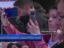 Trump Larang penggunaan Produk Huawei