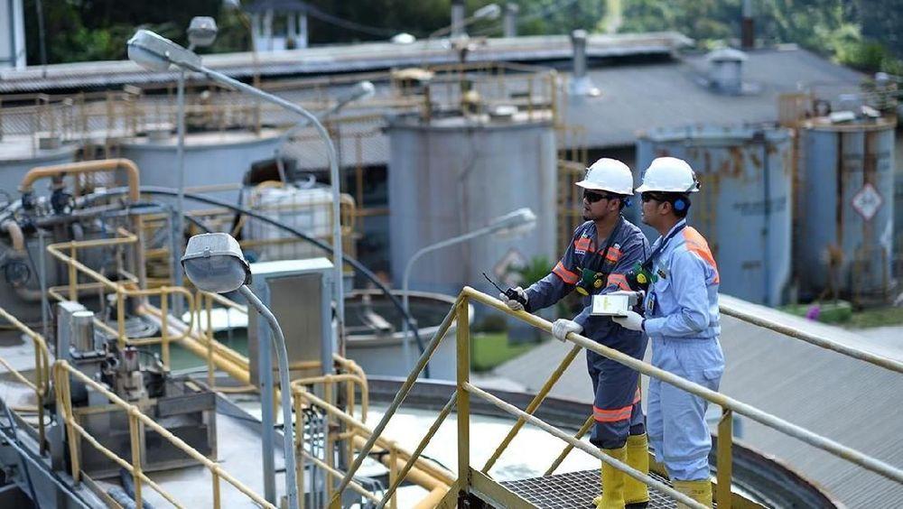 Tambang bawah tanah di Gunung Pongkor, Bogor, Jawa Barat adalah salah satu tambang produksi utama emas dan perak milik PT Antam Tbk (ANTM). Satu tambang underground lainnya yakni di Cibaliung, Banten. (Doc.foto Antam).