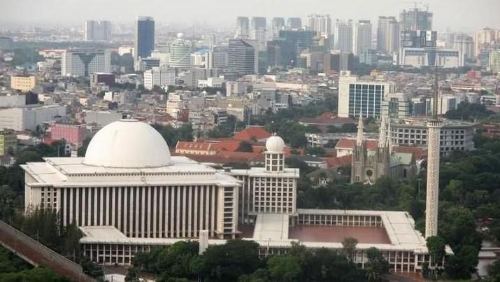 Direnovasi Akbar, Begini Riwayat Mesjid Istiqlal Sejak 1961