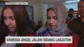 VIDEO: Vanessa Angel Jalani Sidang Lanjutan