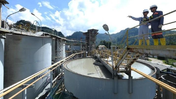 Antam mengaku masih dalam tahap pembangunan smelternya