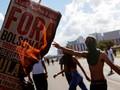 Rakyat Brasil Demo Lagi Tolak Anggaran Pendidikan Disunat