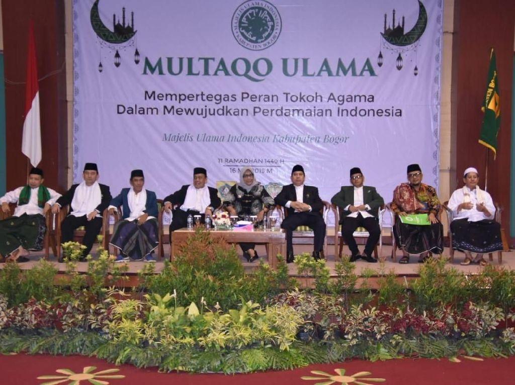 Suasana Multaqo Ulama yang digelar MUI Kabupaten Bogor.