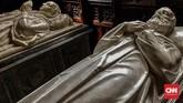 Kapel Fitzalan menjadi makam bagi sejumlah anggota keluarga bangsawan Inggris, termasuk keluarga Duke of Norfolk yang menghuni Kastel Arundel selama 800 tahun. (CNN Indonesia/Ardita Mustafa)