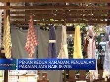 Penjualan Pakaian Mulai Naik 18-20%