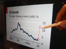 Senasib dengan IHSG, Obligasi RI Terkapar Jelang Akhir Pekan