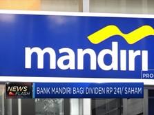Bank Mandiri Sebar Dividen Rp 241/ Saham