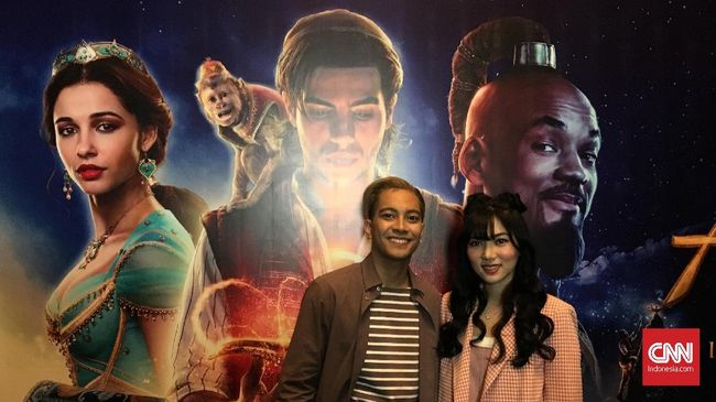 Isyana dan Gamaliel Pilih 'Cabut' di Tengah Nonton 'Aladdin'