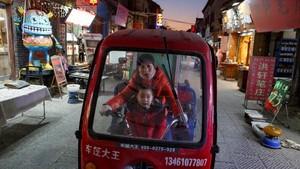 FOTO: Penampakan Ekonomi China yang Lesu Akibat Perang Dagang