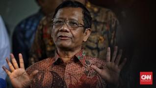 Mahfud Bersikukuh Tak Ada Pelanggaran HAM di Era Jokowi