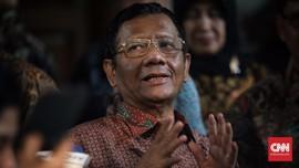 Mahfud MD: KPK Tak Bisa Kembalikan Mandat ke Presiden Jokowi