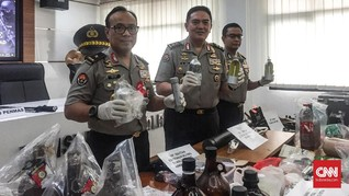 Densus 88 Tangkap 41 Teroris Sepanjang Mei 2019