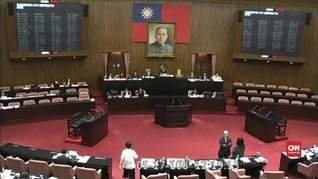 VIDEO: Parlemen Taiwan Loloskan UU Pernikahan Sesama Jenis