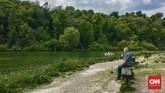 Di sekitar Kastel Arundel juga banyak lahan terbuka hijau yang sering digunakan warga lokal dan turis untuk piknik di akhir pekan. (CNN Indonesia/Ardita Mustafa)