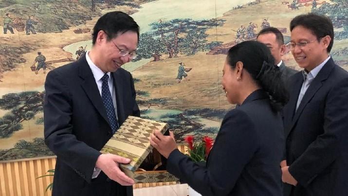 Demi Hilirisasi, Rini Dekati Bos-Bos Industri Logam China
