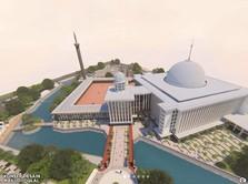 Makin Megah, Ini Bentuk Masjid Istiqlal Usai Renovasi Nanti