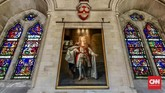 Kastel Arundel membuka pintu bagi pengunjung sejak tahun 1854. Kastel ini merupakanhunian pertamadi Inggris yang menggunakan teknologi pemanas, lift, dan tata cahaya listrik. (CNN Indonesia/Ardita Mustafa)