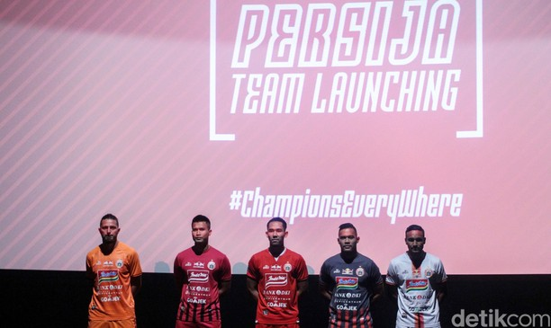 Ini Dia Skuat dan Jersey Persija 2019