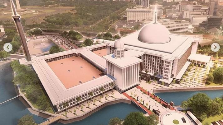 Renovasi ini dilakukan untuk mewujudkan Masjid Istiqlal sebagai Masjid Negara yang indah dan menjadi kebanggaan bangsa Indonesia.