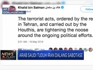 Arab Saudi Tuduh Iran Dalang Bom Fasilitas Migas di Riyadh