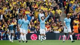 Man City Unggul 2-0 atas Watford di Babak Pertama