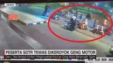 VIDEO: Peserta SOTR Tewas Dikeroyok Geng Motor