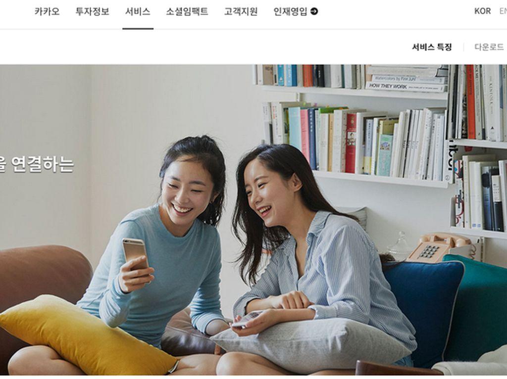 11. KakaoTalk. Layanan dari perusahaan Korea ini cukup digemari karena sejumlah fitur dasar yang ditambah fitur lain seperti conference call sampai lima orang, polling, dan walkie talkie. (Foto: kakaocorp.com)KakaoTalk.