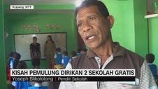 VIDEO: Kisah Pemulung Dirikan 2 Sekolah Gratis