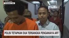 VIDEO: Polisi Tetapkan Dua Tersangka Penganiaya ART