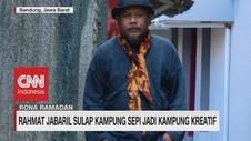 VIDEO: Rahmat Jabaril Sulap Kampung Sepi Jadi Kampung Kreatif