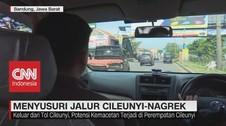 VIDEO: Menyusuri Jalur Cileunyi-Nagrek Jelang Mudik