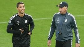 Ronaldo Minta Juventus Datangkan Ancelotti