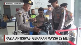 VIDEO: Razia Antisipasi Gerakan Massa 22 Mei