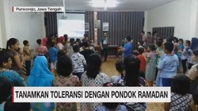 VIDEO: Tanamkan Toleransi dengan Pondok Ramadan