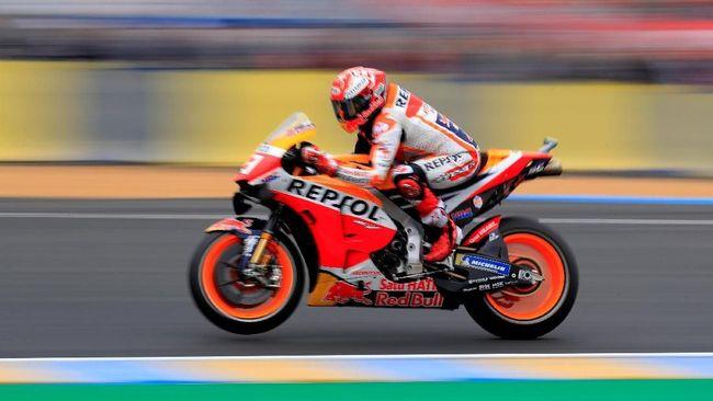 Hasil MotoGP Italia 2019: Marquez Tercepat di FP1