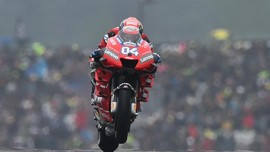 Dovizioso Kecewa dengan Motor Ducati dan Puji Marquez