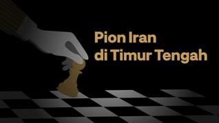 INFOGRAFIS: Pion Iran di Timur Tengah