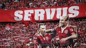 FOTO: Perpisahan Robben dan Ribery dalam Pesta Bayern Munchen