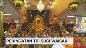 VIDEO: Perayaan Tri Suci Waisak di Jakarta
