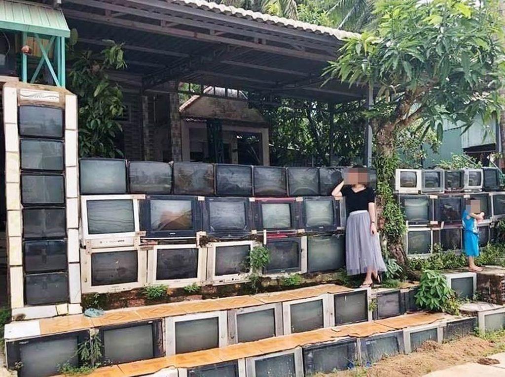 Rumah unik ini ada di pulau Hon Thom, Vietnam. Istimewa/Thanh Tien.