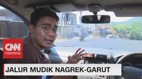 VIDEO: Uji Coba Jalur Mudik Nagreg-Garut