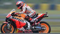 MotoGP Prancis: Marquez Samai Rekor Pole Rossi