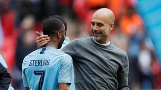 Cetak Hattrick, Sterling Tetap Dimarahi Guardiola
