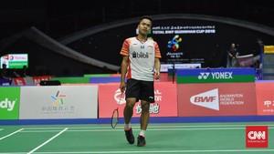 Susunan Pemain Indonesia vs Denmark
